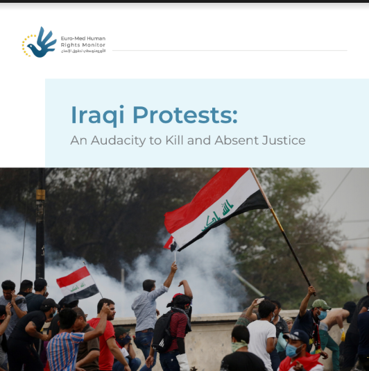 Audace du crime et absence de justice : Rapport documentant les violations de la sécurité irakienne contre les manifestants