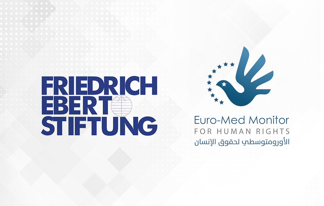 "Euro-Med signs partnership with German Friedrich Ebert Foundation on ""Integrating human rights standards in journalistic discourse"" project"