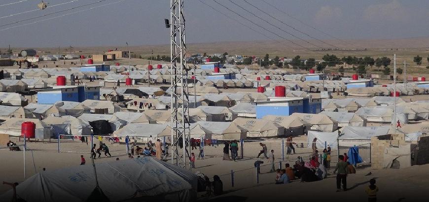 Euro-Med met en garde contre les conditions catastrophiques des personnes déplacées dans le camp d'Al-Houl et appelle à une aide d'urgence