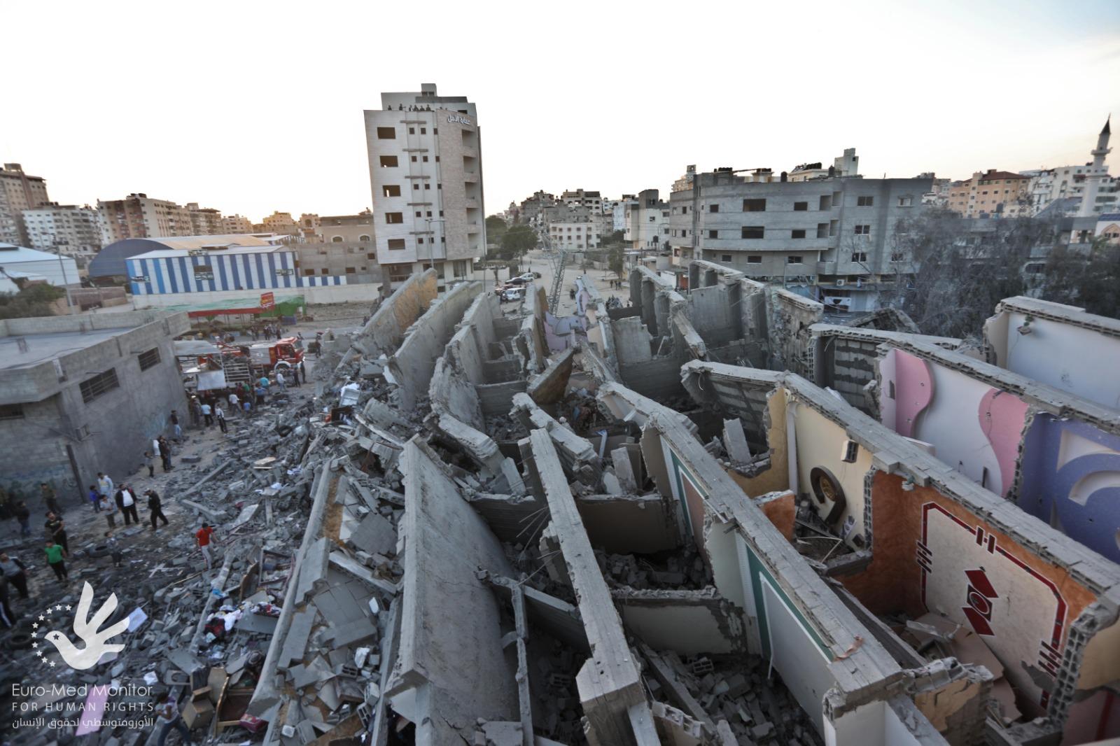 Israel's targeting of homes for alleged military purposes a war crime