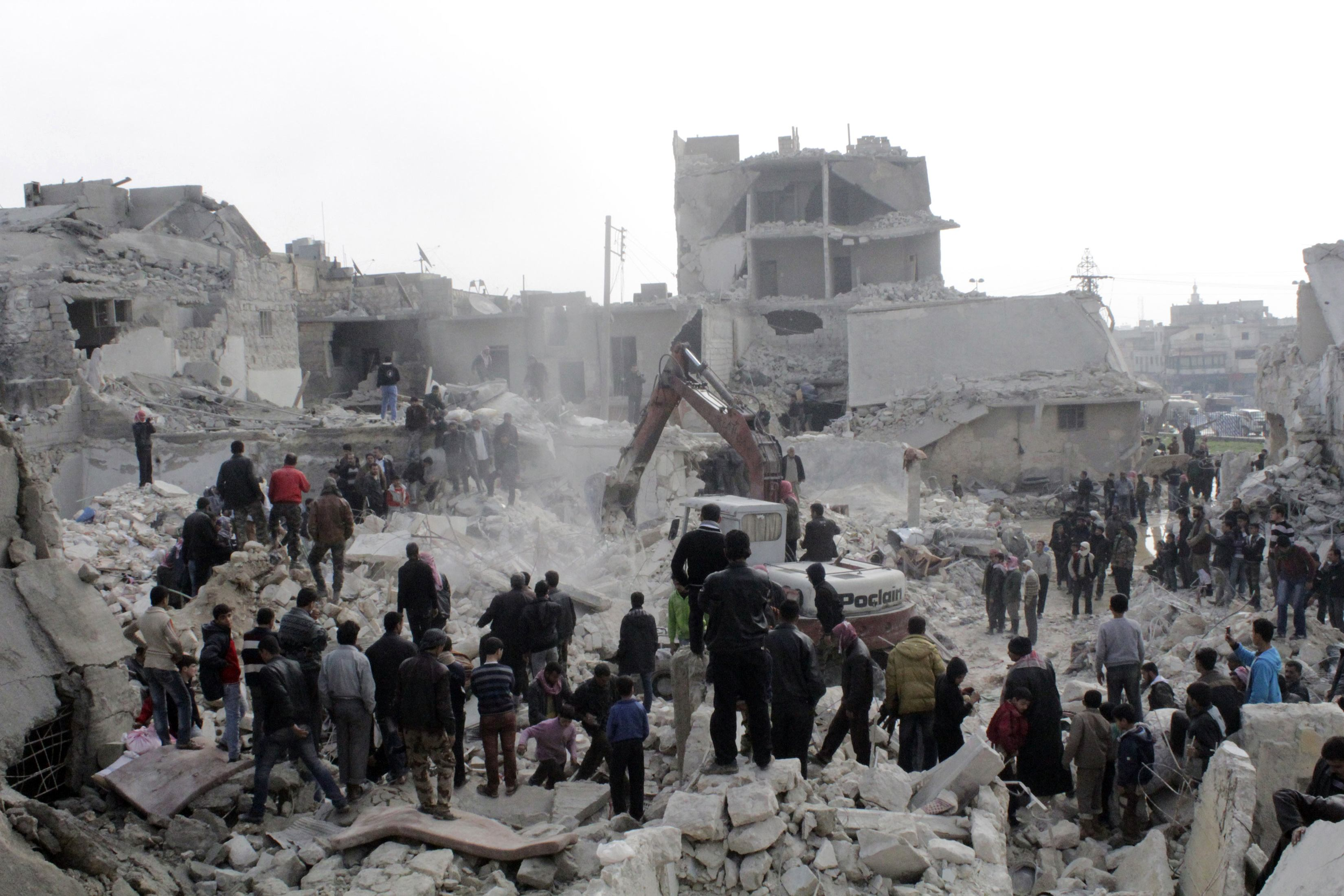 Targeting civilian objects north of Syria a war crime