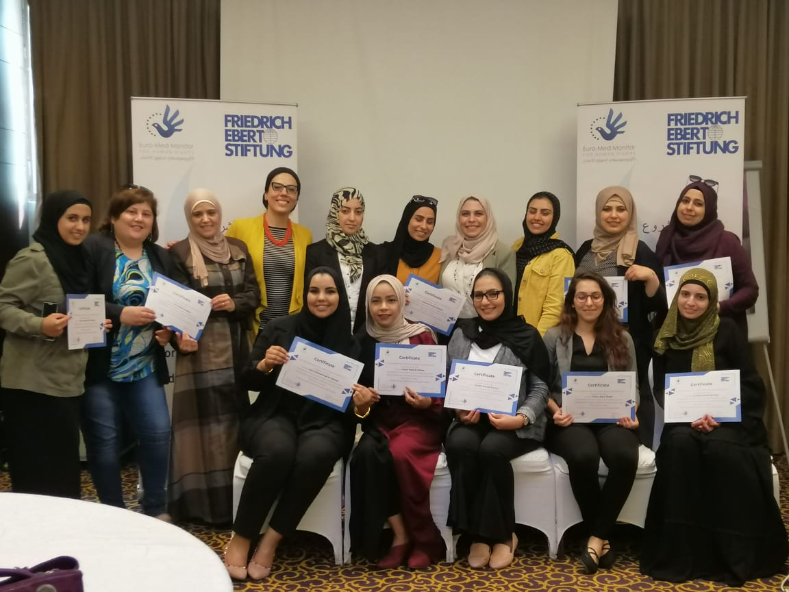 World Press Freedom Day is marked by concluding a project on integrating human rights standards into press discourse by Euro-Med and FES
