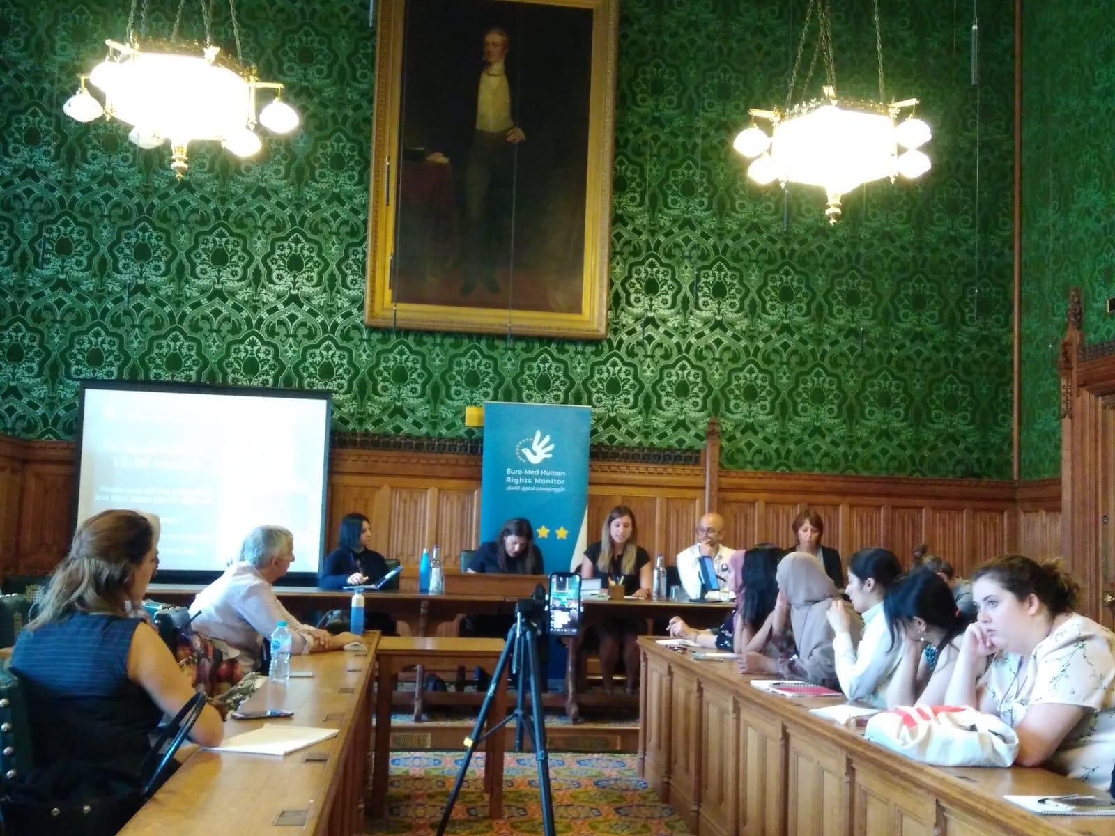 ندوة للأورومتوسطي في البرلمان البريطاني تدعو للعمل الحثيث لتغيير واقع المرأة في الشرق الأوسط