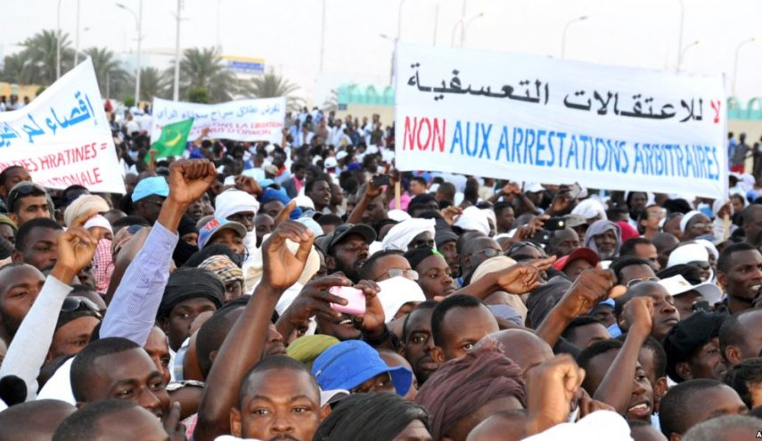 Media tightening and targeting dissidents could undermine Mauritania's emerging democracy