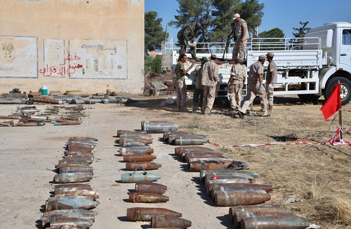 Euro-Med Monitor's New report: Sirte's mines: Suspended killing