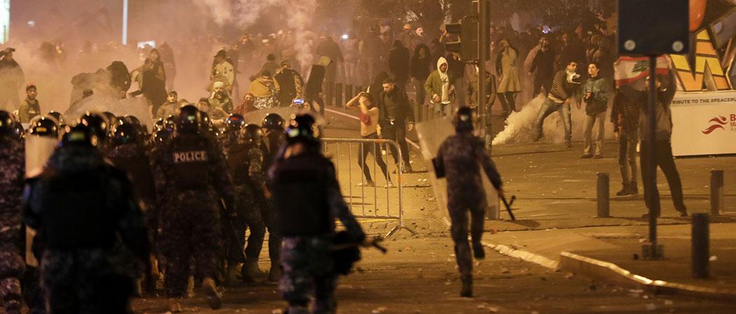 La répression sécuritaire contre les manifestants aggrave  la crise au Liban
