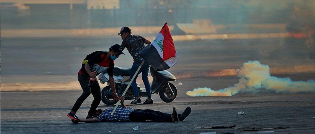 Irak : Euro-Med documente le ciblage direct des manifestants à des fins de meurtre et de handicap