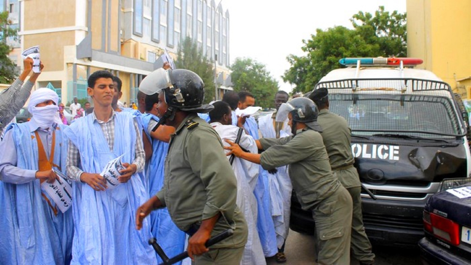 Public criticism faced by arbitrary arrests in Mauritania