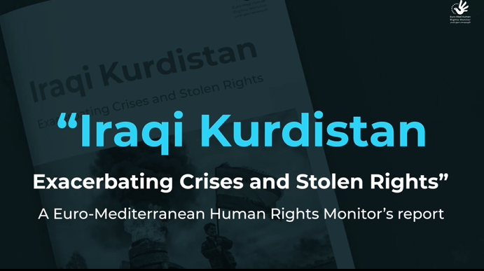 200 detainees in two months of demonstrations in Iraqi Kurdistan