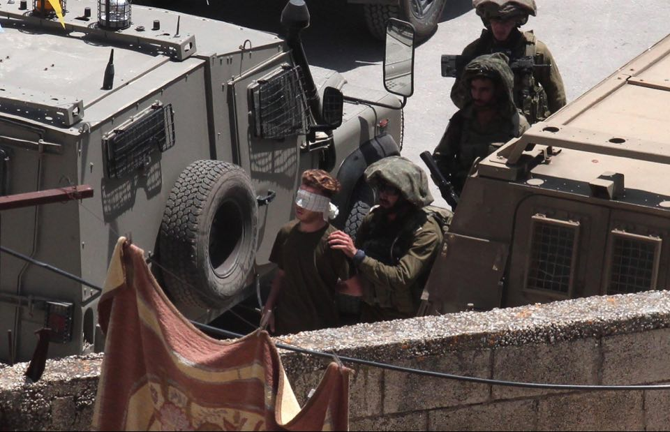 Palestinian Territories: 30,000 hostages to Israeli forces' intimidation in Yabed