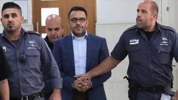 محافظ القدس عدنان غيث خلال إحدى جلسات المحاكمة