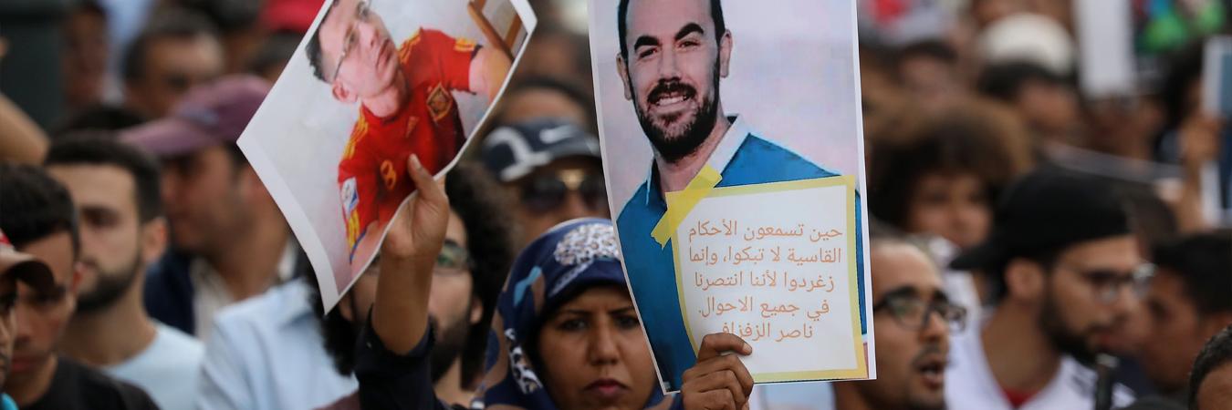 الأورومتوسطي ينتقد المعاملة اللاإنسانية لمعتقلي حراك الريف في المغرب