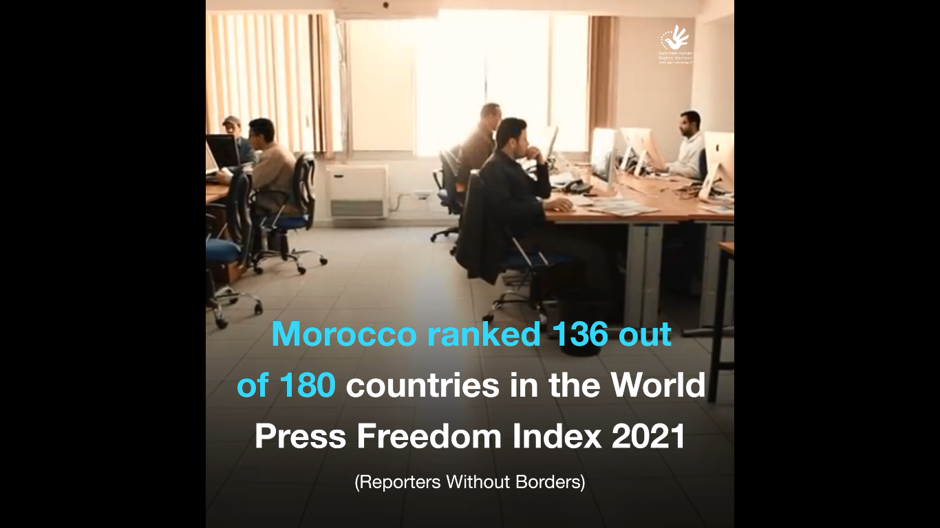 Moroccan authorities stifle freedom of opinion and expression