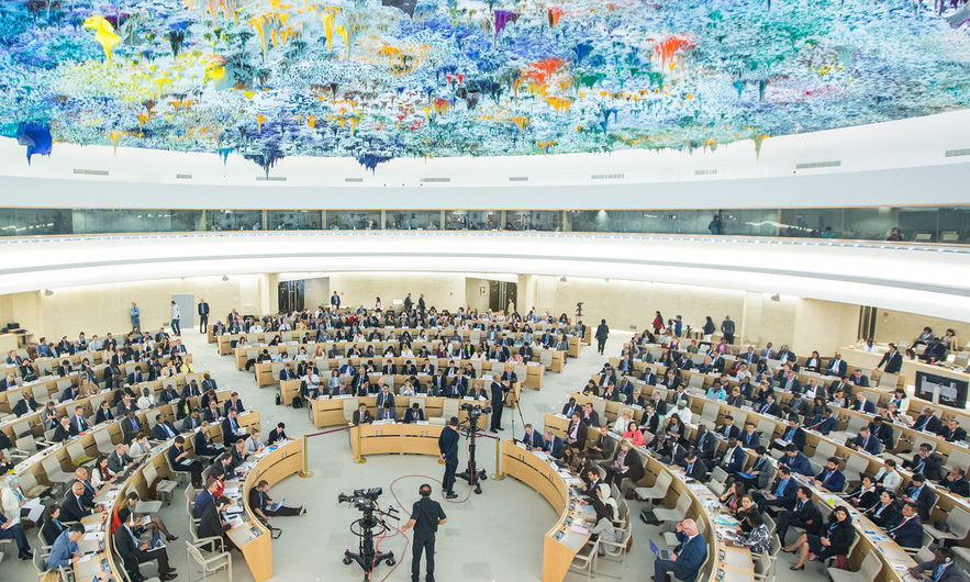 Au CDH : Euro-Med Monitor appelle à une intervention internationale contre les politiques discriminatoires israéliennes.
