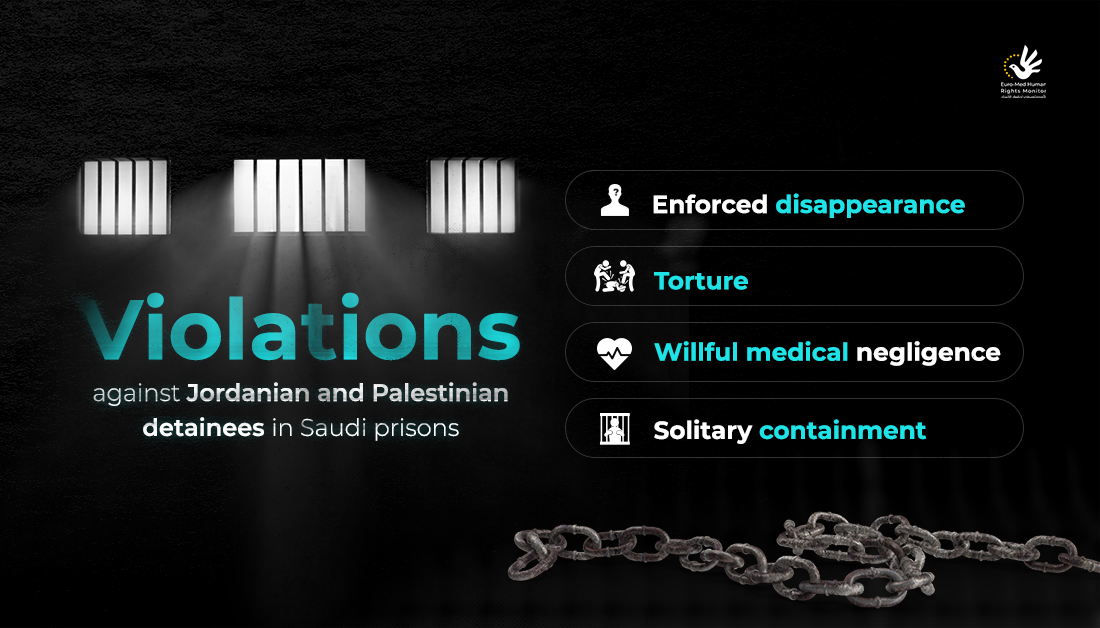Violations against Jordanian and Palestinian detainees in Saudi Arabia