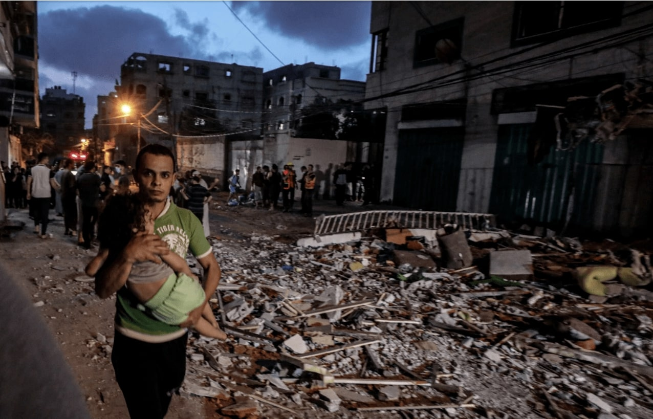 Israel collectively punishes the population in Gaza by targeting homes and civilians