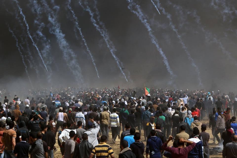 Nouveau rapport: Israël utilise des balles explosives et du gaz toxique contre les manifestants à la frontière de Gaza