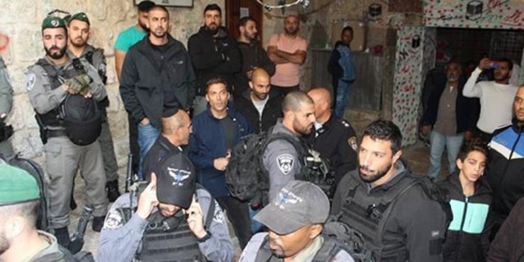 حظر اقامة فعالية اجتماعية في البلدة القديمة في القدس | نوفمبر 2018